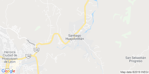 Mapa de SANTIAGO HUAJOLOTITL�N