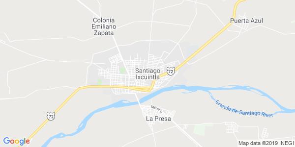 Mapa de SANTIAGO IXCUINTLA