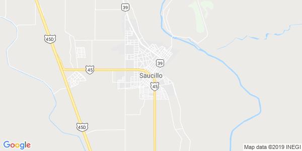 Mapa de SAUCILLO