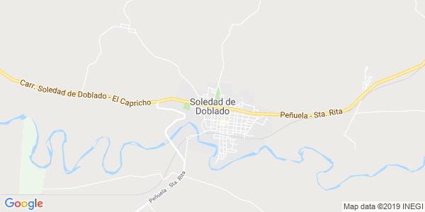 Mapa de SOLEDAD DE DOBLADO
