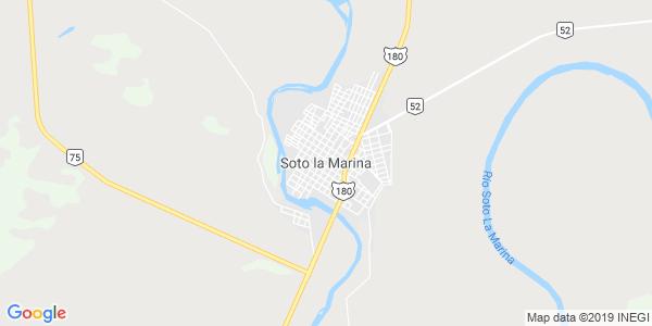 Mapa de SOTO LA MARINA