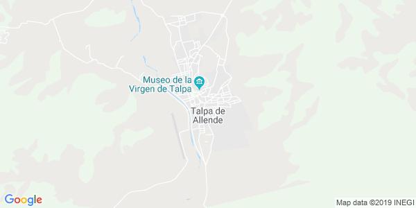 Mapa de TALPA DE ALLENDE