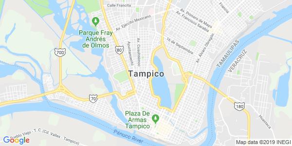 Mapa de TAMPICO