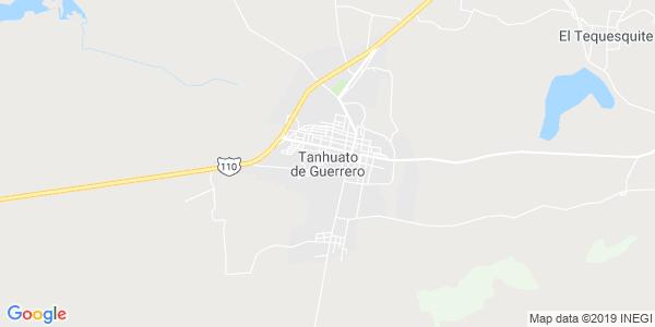Mapa de TANHUATO
