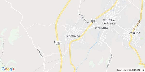 Mapa de TEPETLIXPA
