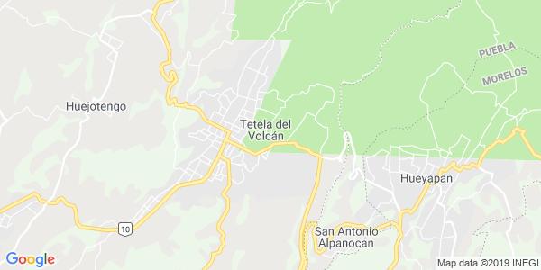 Mapa de TETELA DEL VOLCÁN