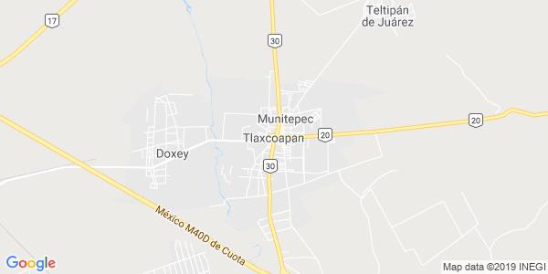 Mapa de TLAXCOAPAN