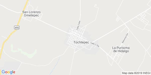 Mapa de TOCHTEPEC