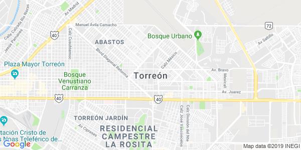 Mapa de TORRE�N