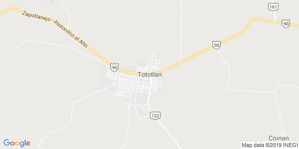 Mapa de TOTOTL�N