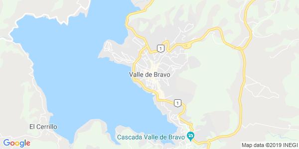Mapa de VALLE DE BRAVO
