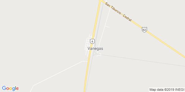 Mapa de VANEGAS