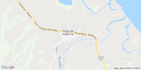 Mapa de VEGA DE ALATORRE