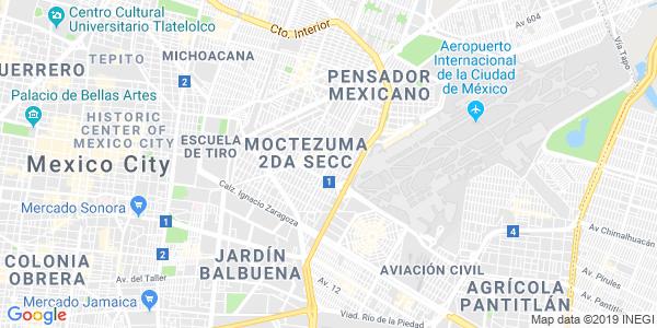 Mapa de VENUSTIANO CARRANZA