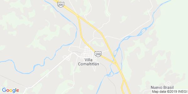Mapa de VILLA COMALTITLÁN