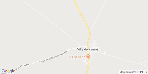 Mapa de VILLA DE RAMOS