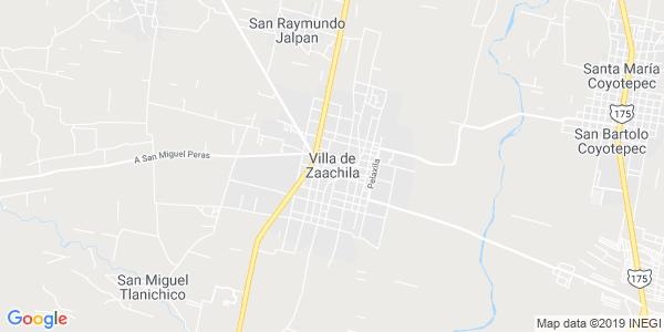 Mapa de VILLA DE ZAACHILA