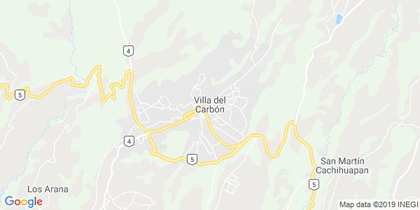 Mapa de VILLA DEL CARB�N