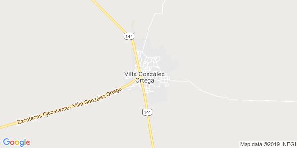 Mapa de VILLA GONZÁLEZ ORTEGA