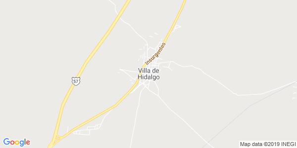 Mapa de VILLA HIDALGO