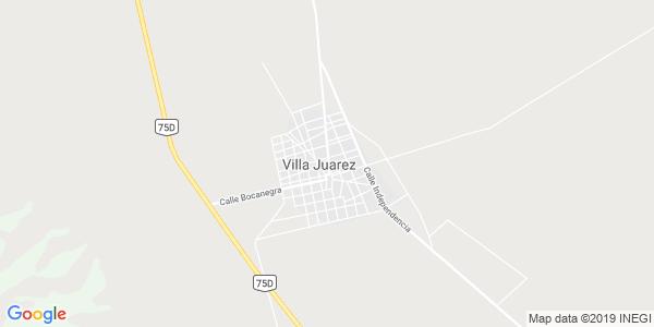 Mapa de VILLA JU�REZ