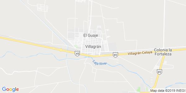 Mapa de VILLAGRÁN