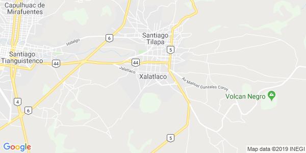 Mapa de XALATLACO