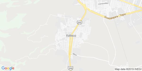 Mapa de XALISCO