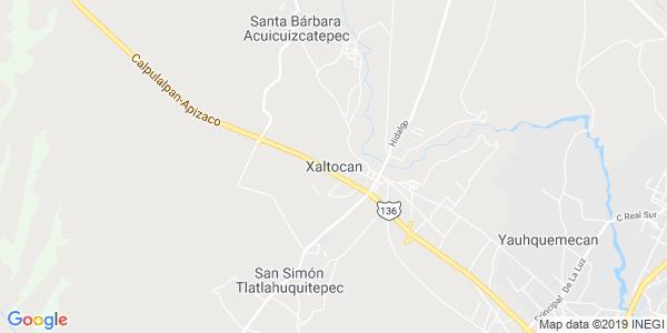 Mapa de XALTOCAN