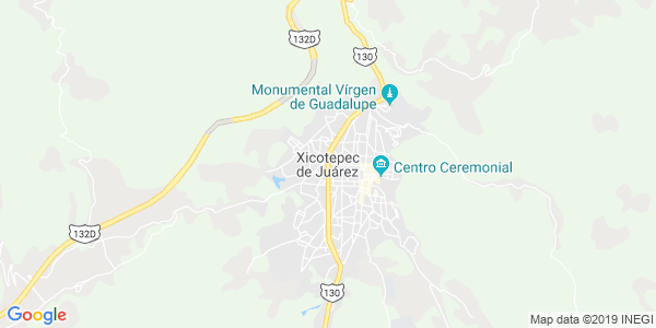 Mapa de XICOTEPEC