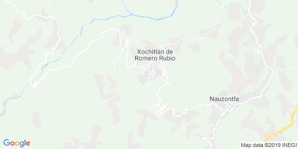 Mapa de XOCHITL�N DE VICENTE SU�REZ