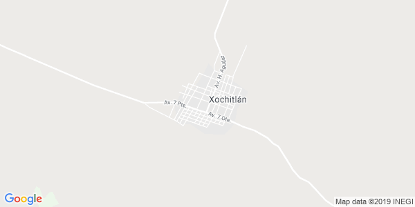 Mapa de XOCHITL�N TODOS SANTOS