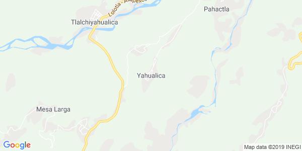 Mapa de YAHUALICA