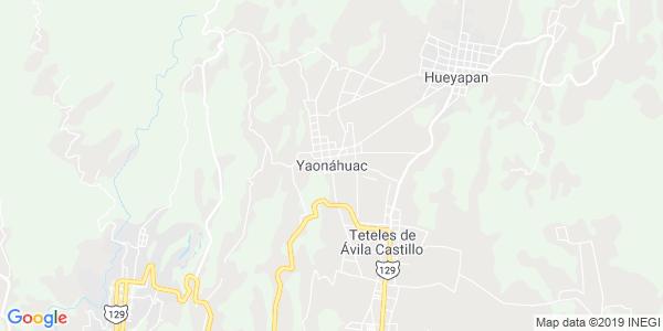 Mapa de YAON�HUAC