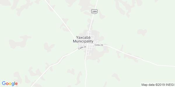 Mapa de YAXCABÁ