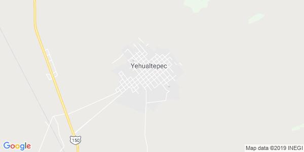 Mapa de YEHUALTEPEC