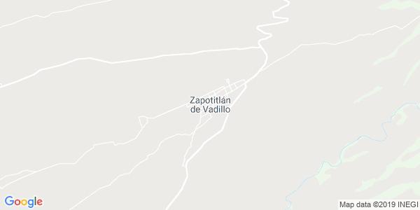 Mapa de ZAPOTITL�N DE VADILLO