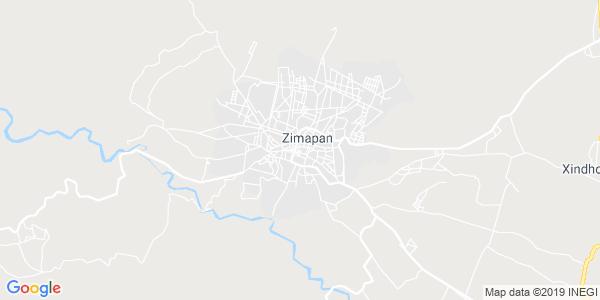 Mapa de ZIMAP�N