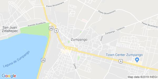 Mapa de ZUMPANGO