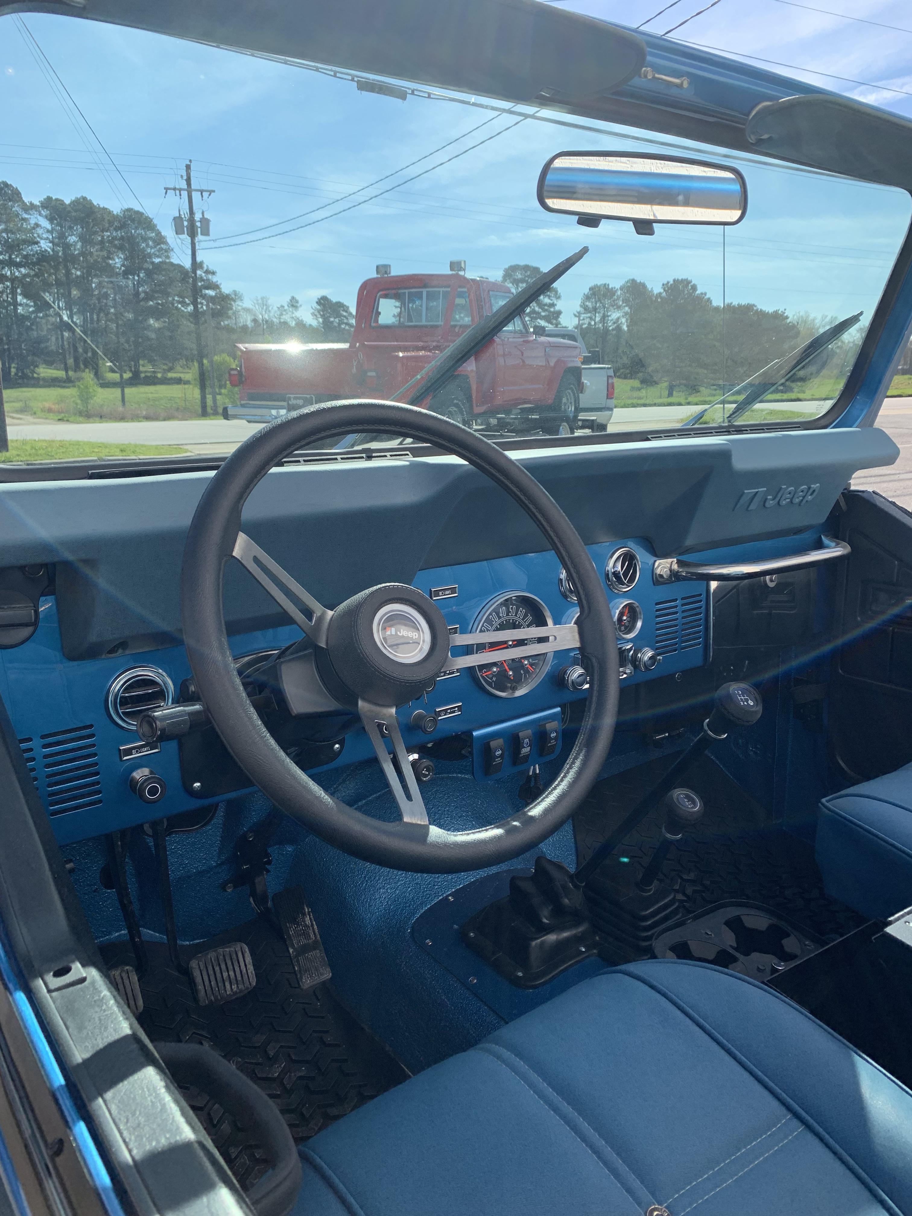 1978 Cj7 Blue Thumbnail