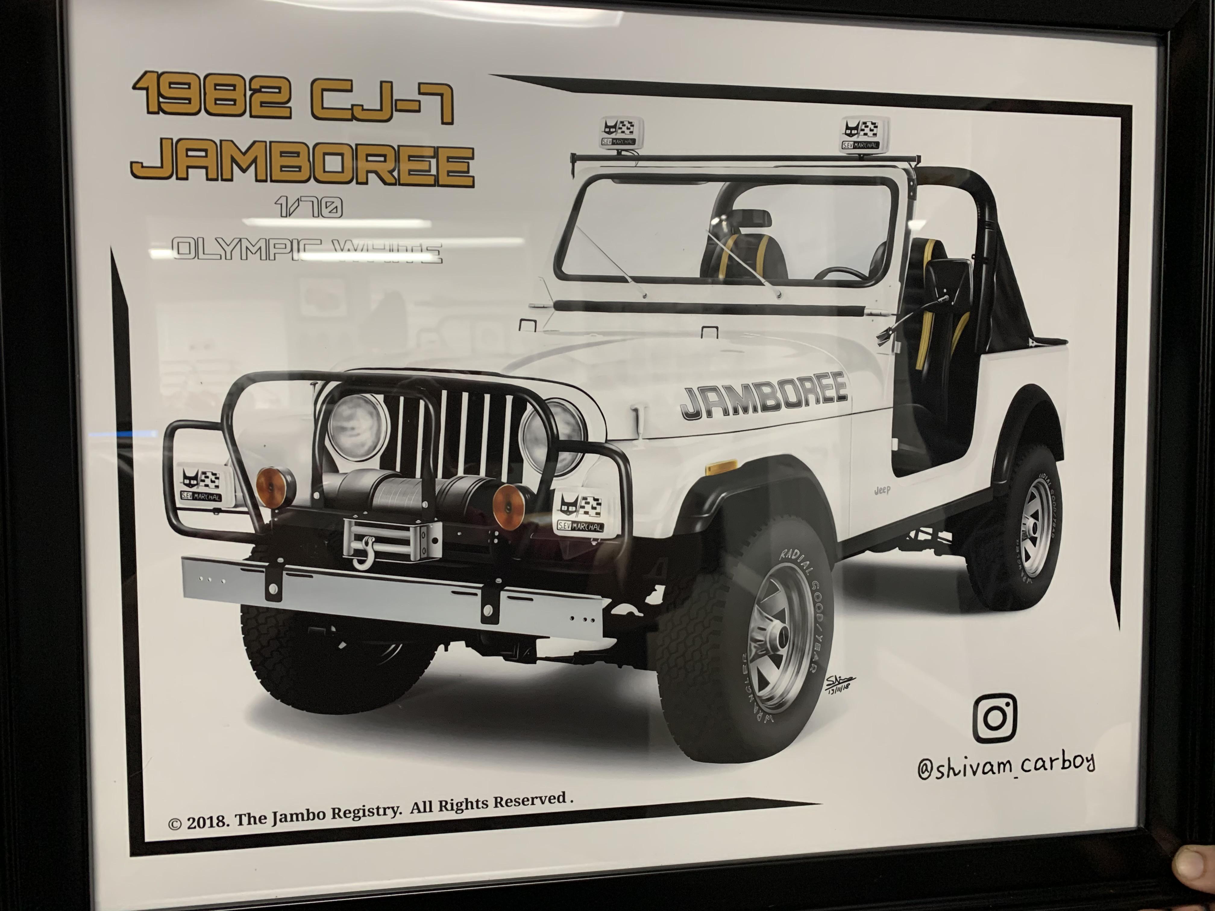 Available for Custom Build SUPER RARE White Jamboree Edition CJ7  Thumbnail