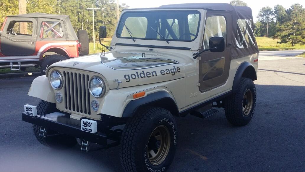 1978 Gold Eagle - Custom Project Thumbnail