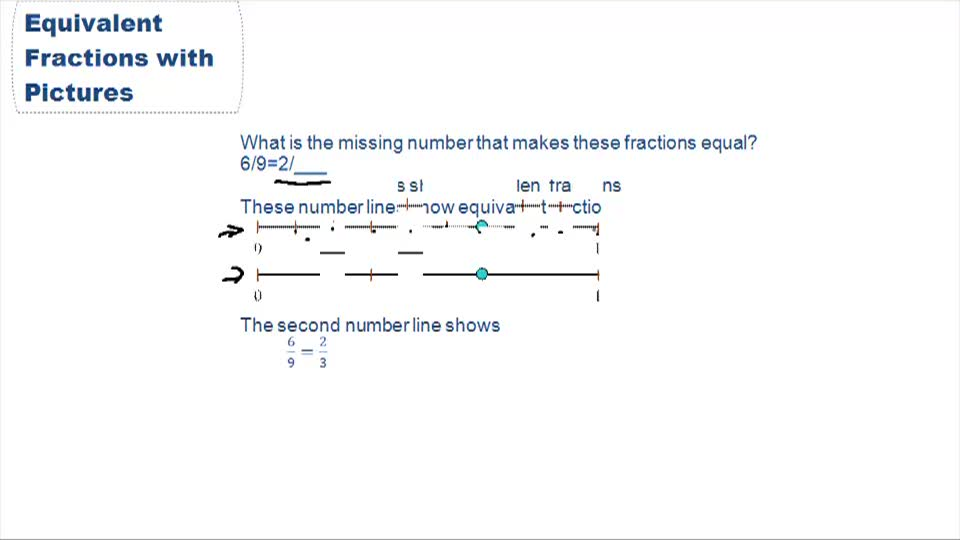 Equivalent Fractions - Example 1