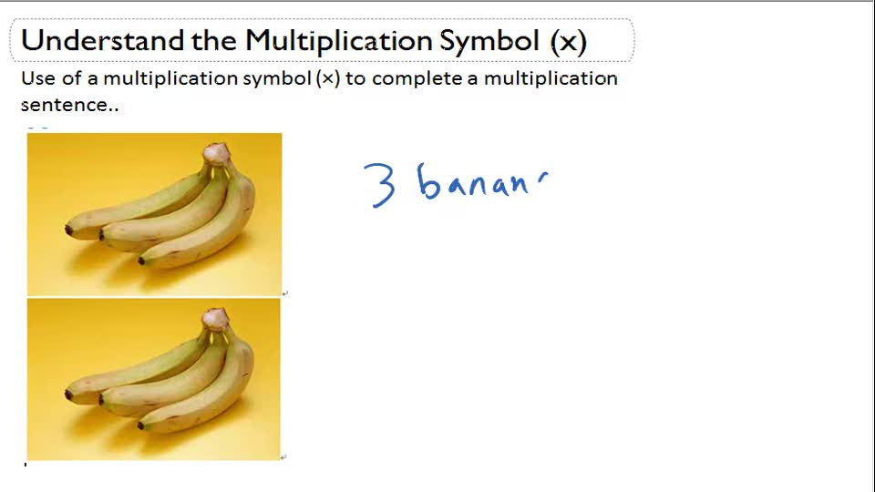 Multiplication Sentences from Illustrations II (Numbers 2, 3, 4, 5, and 10)