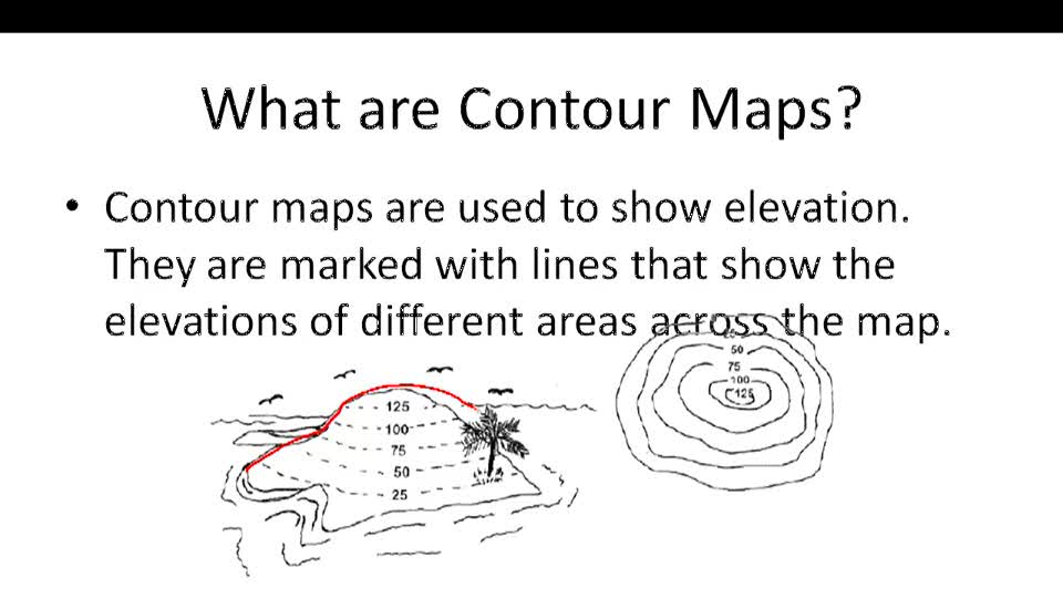Contour Maps - Example 1