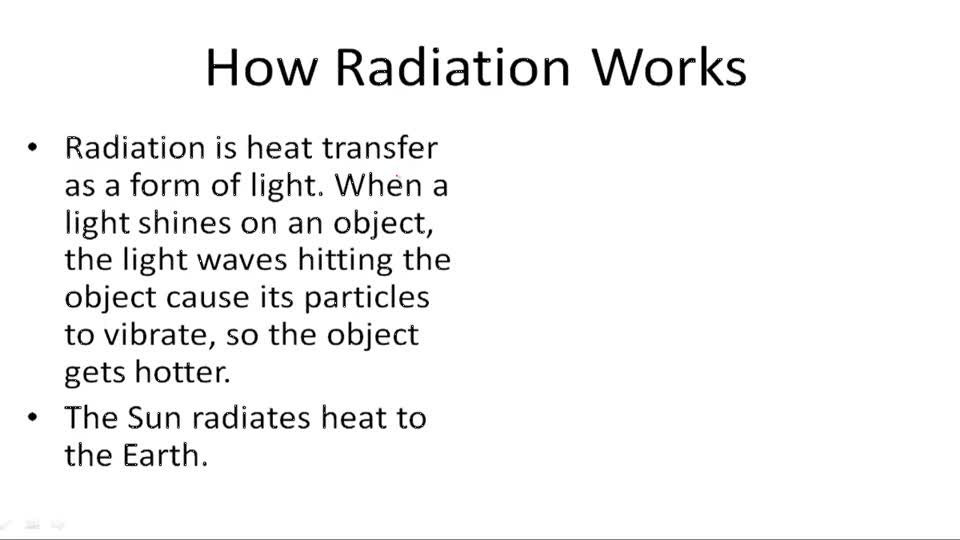 Types of Heat Transfer - Example 1