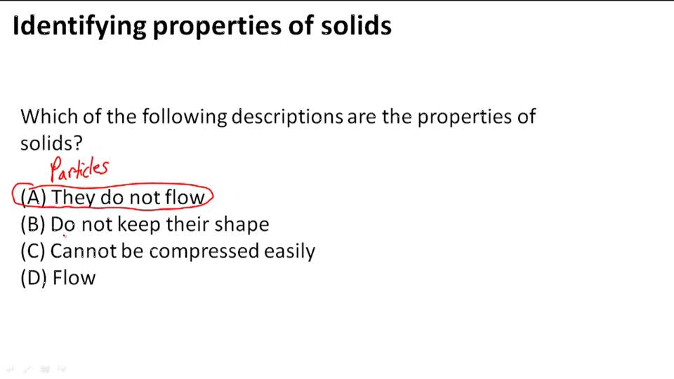 Solids Liquids And Gases Examples Solids Liquids And Gases Example 1