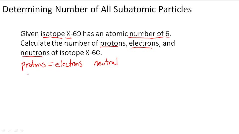 Isotopes - Example 1
