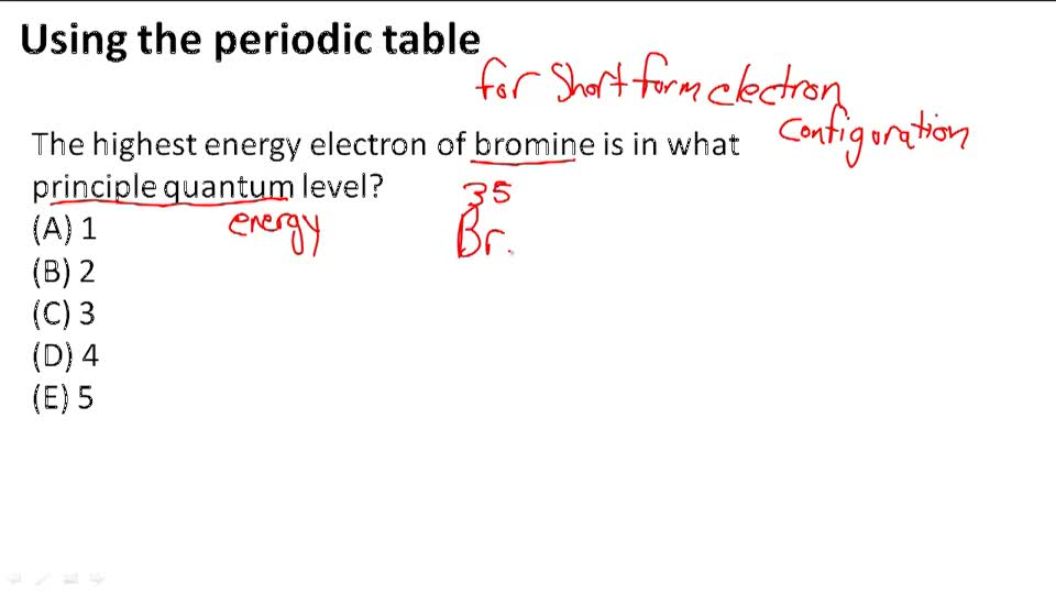 Electron Configurations Video Chemistry Ck 12 Foundation