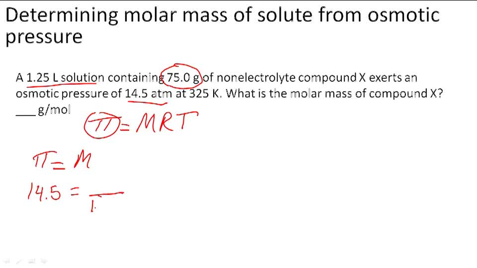 determining the molar mass of a To determine the molar mass of a gas or vapor, we need to determine the mass of the sample of gas under known conditions of temperature and pressure assuming the gas obeys the ideal gas law: pv = nrt and if pressure, temperature and volume are determined experimentally and r is a.